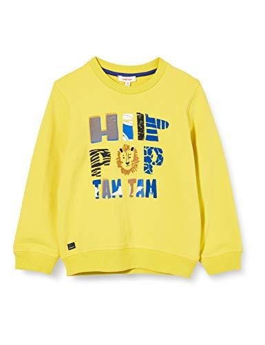 Catimini CQ15002 Sweat Shirt, Jaune (Jaune Moyen 72), 9-12 Mois (Taille Fabricant:12M) Bébé garçon