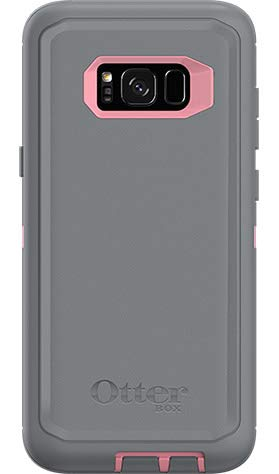 OtterBox Defender Screenless Series Case for Samsung Galaxy S8 PLUS - Case Only - Non-Retail Packaging - (Gunmetal Grey/Rosmarine Pink)