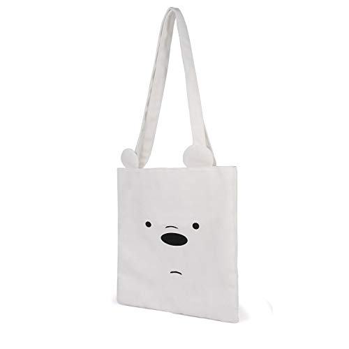 Siamo Solo Orsi Orso Bianco-Borsa della Spesa Shopping Bag