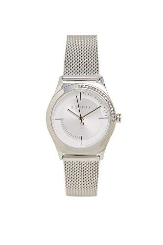 Esprit ES1L116M0065 Hood Horloge Dameshorloge Roestvrij staal 3 bar analoog zilver