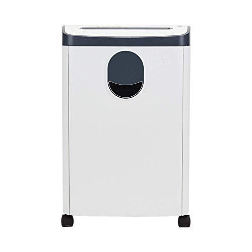 Best Bargain CHUXJ 10-Sheet High Security Micro-Cut Paper/Credit Card Shredder with 18L Pullout Wast...