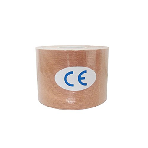 Idyandyans Cotton Elastic Kinesiologie Therapeutic Bandwasserdichte Muskelunterstützung Kinesiologie Kinesiologie-Tape, Tape-Klebeband