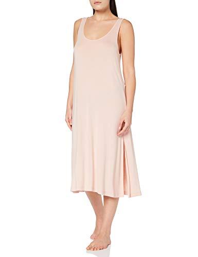 Iris & Lilly AMZ21SSG09 Nachthemdresses/Nachthemden, Pink (Rose Smoke), 40