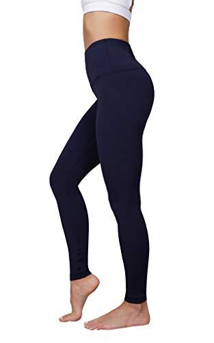 Yogalicious Super High Waist Soft Nude Tech Womens Leggings - Dark Navy - XL
