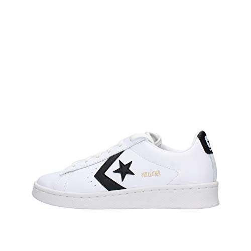 Converse Chuck Weiß Leder 167237C Star Player Pro Leather - White Black White, Groesse:40 EU