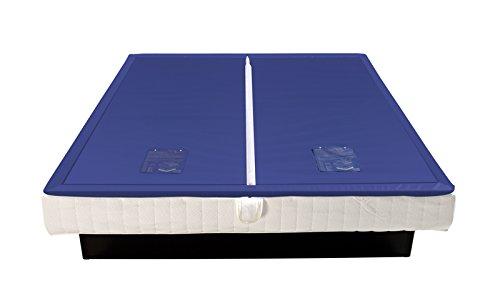 bonvionn Wasserkerne Softside Dual Wasserbettmatratze Matratze Wasserbett in verschiedenen Größen und Beruhigungsstufen, Beruhigungsstufe Wasserbett:F2 leicht > 5 Sek = 50%, Größe:180x200