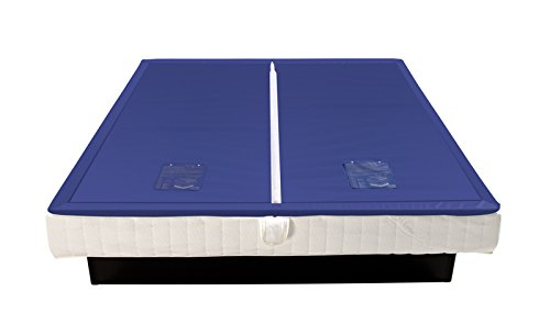 Bonvionn Wasserkerne Softside UNO Wasserbettmatratze Matratze Wasserbett in verschiedenen Größen und Beruhigungsstufen, Größe:140x200, Beruhigungsstufe Wasserbett:F0 freeflow > 20 Sek = 0%
