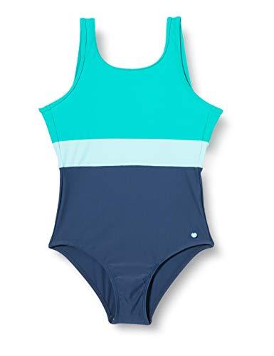 ESPRIT wear Mädchen Ross Beach YG Swimsuit leger Badeanzug, 470, 152/158