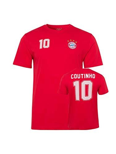 FC Bayern München T-Shirt Coutinho rot, M