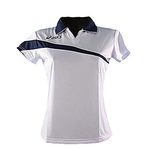 Asics - Polo de tenis para mujer