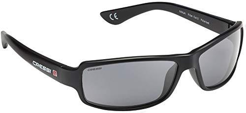 Cressi Ninja Ultra Flex Gafas de Sol, Ultra Flex Talla Única, Negro
