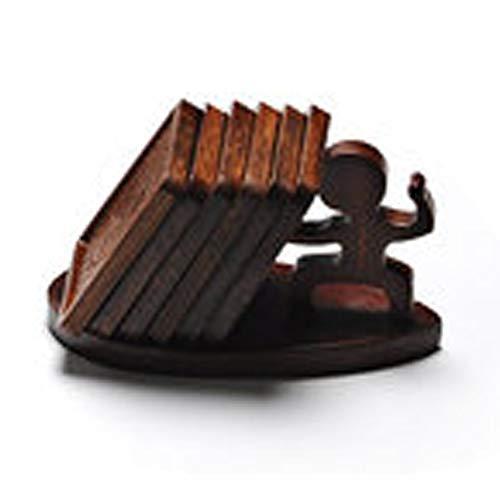 AUEDC Teetasse Matte Tischmatte Anti-Hot Untersetzer Tasse Matten Kaffeekissen Tischsets 6Er-Set Für Einweihungsparty Hostess Geschenk Küche Bar Dekorationen,D