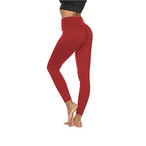 Leggings de gimnasio para mujer, pantalones de entrenamiento de cintura alta, costuras sin costuras, leggings de entrenamiento de fitness, medias de deporte para correr transpirable