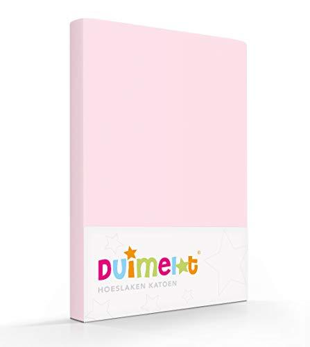 Duimelot rose 100% Katoen Junior hoeslaken 70x140/150