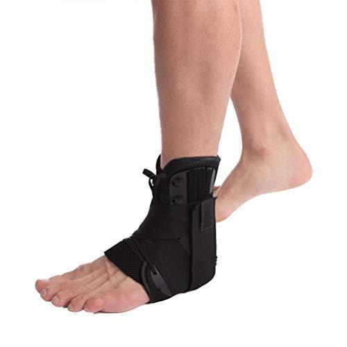 Auplew Tobillera, estabilizador Torcido de Tobillo para Lesiones de la articulación del tendón de Aquiles y Vendajes de recuperación
