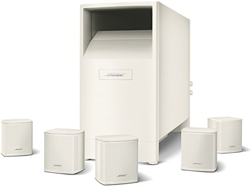Bose® Acoustimass® 6 Series V- Sistema de Home Cinema 5.1, blanco