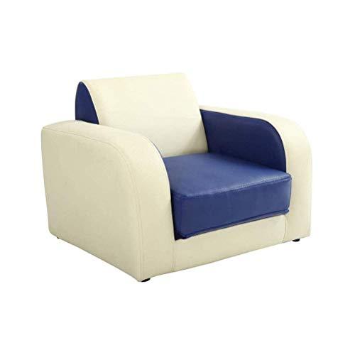 FTFTO Haushaltsprodukte Sofa Stuhl Sofas Couches Kinder Wohnzimmer Schlafzimmer Nettes kleines Sofa Leder Lazy Mini Sofa Kann schlafen Kann sitzen