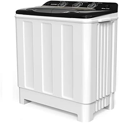 Compact Twin Tub Portable Mini Washing Machine 24lbs Capacity Washer 16 5lbs Spiner 7 5lbs Built product image