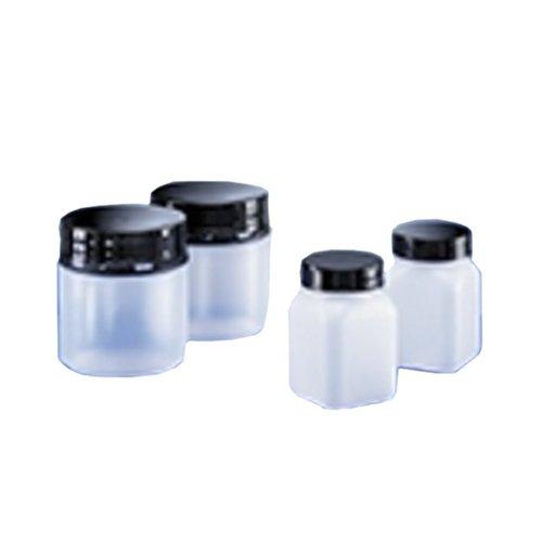 Original Verschluss PVC Klarsichtig 1000 mL Vielkantig Kautex 2000070599 WH-Beh/älter