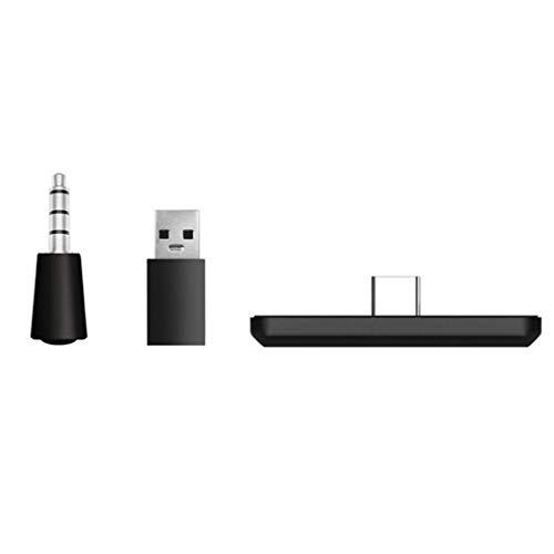 Adaptador inalámbrico para transmisor Switch 5.0 para Auriculares, Altavoces, PC, portátil (Negro)