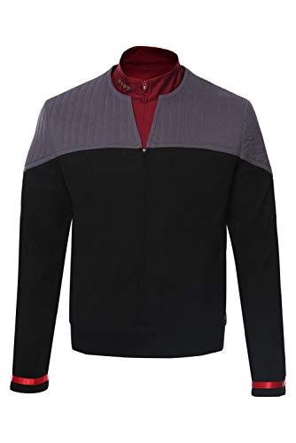 dolass Jean-Luc Picard - Disfraz de adulto para hombre, de algodn, disfraz de cosplay