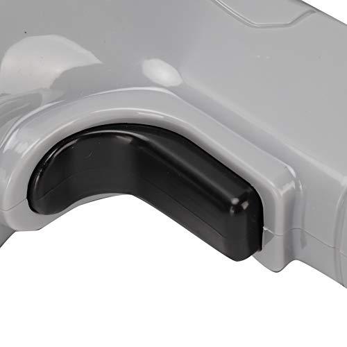 Piston de toilette, avec 5 têtes de débouchage de drague de toilette, outils 9 en 1 pour baignoires évier de cuisine salle de bain(grey)