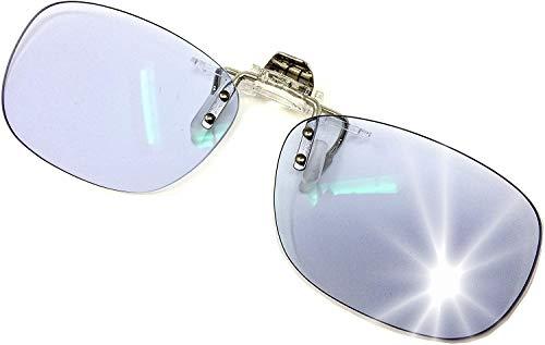 ネオコントラスト クリップオン サングラス UVカット メガネの上からつけるサングラス NL (非調光)