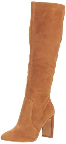 Dolce Vita Women's COOP Knee High Boot, Dark Saddle Suede, 10 M US
