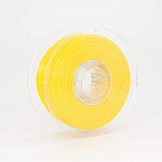 Standard Print Co. PETG 3D Printer Filament, 1.75mm, Yellow, 1kg Refillable ECO Spool