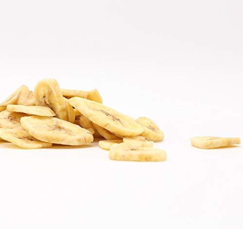 FutterXL 500g Bananenchips - Gesunde Leckerei für Vögel, Nager, Hunde & Pferde