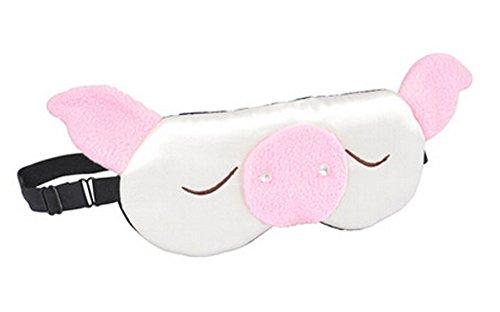 Belle Mou double cache oeil/cache oeil pour dormir, Cochon/Multicolore
