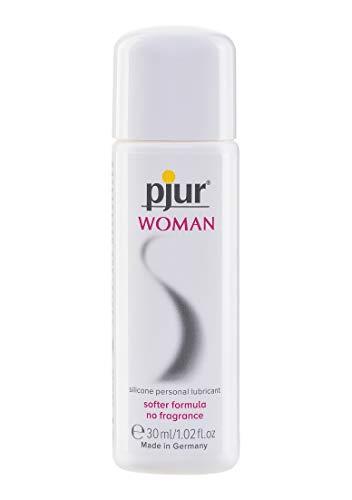 pjur WOMAN - Gleitgel für Frauen auf Silikonbasis - für prickelnden Sex und längeren Spaß - optimal für empfindliche Haut - 1er Pack (1 x 30 ml)