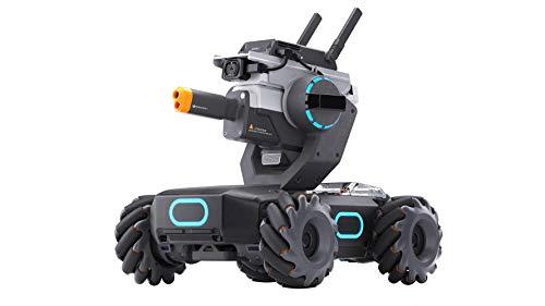 DJI RoboMaster S1, Soporte Educativo, Robot para Construir tú Mismo, IA, programación de Scratch y Python, robótica, múltiples Modos de Lucha, diseñado para Ganar (DJIRMS1-EU)