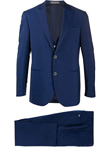 Corneliani Luxury Fashion Herren 8580500114135007 Blau Wolle Anzuge | Frühling Sommer 20