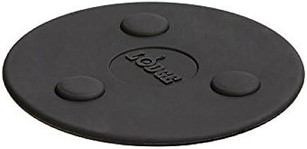 Lodge ASMMT Silicone Magnet Trivet, 5.75 inches, Black
