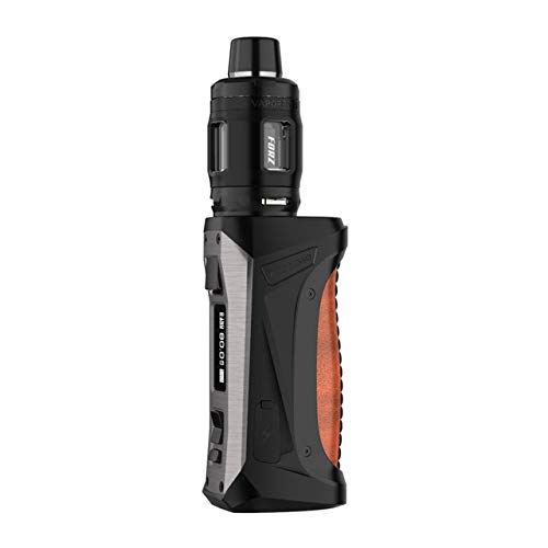 Original Vaporesso FORZ TX80 VW Kit 4.5ml With FORZ RDA Atomizer compatible with 510 & 810 Drip Tips Electronic Cigarette Vape Kit (Leather Brown)