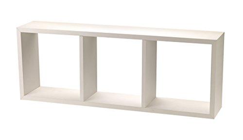 King Home M1106052/B, Bianco, 80X30X15