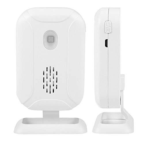 Yctze Sensor de Movimiento del Timbre de la Puerta de Bienvenida inalámbrico Sensor de Movimiento infrarrojo infrarrojo del interfono para Tiendas, complejos comerciales, hoteles de Lujo, oficinas