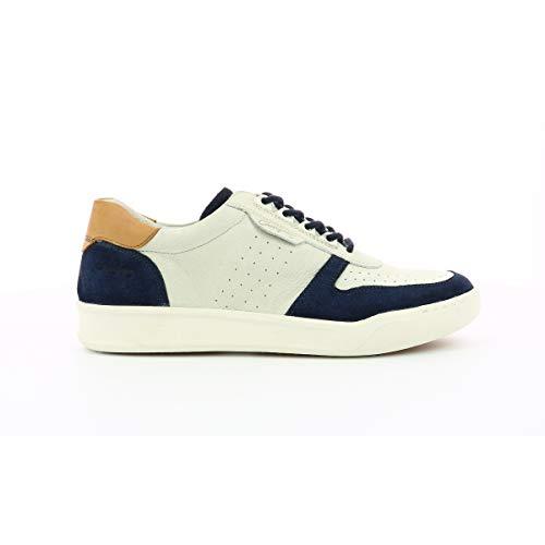Snight, zapatillas bajas para hombre,, Azul (azul y blanco), 41 EU