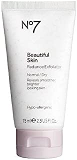 Boots No7 Beautiful Skin Radiance Exfoliator, Normal / Dry 2.5 fl oz (75 ml) by AB