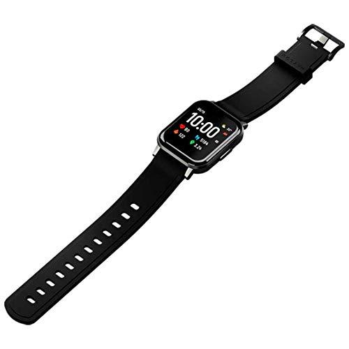 Haylou Smartwatch LS02 Silikon-Armband, quadratisch, schwarz