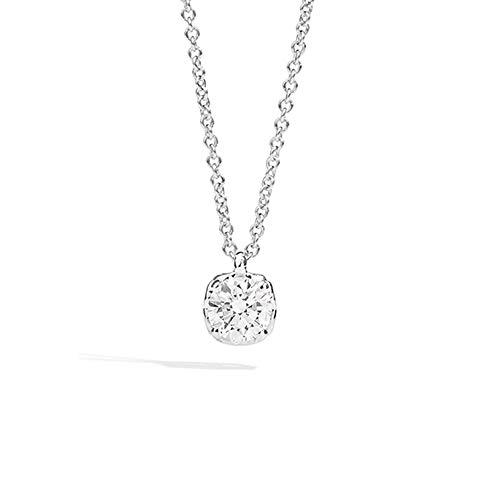 Collana Recarlo Punto Luce Modello Anniversary Diamante Naturale Oro 18kt Donna P01PX730