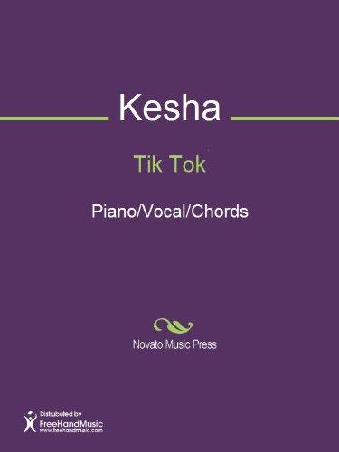 Tik Tok Sheet Music (Piano/Vocal/Chords)