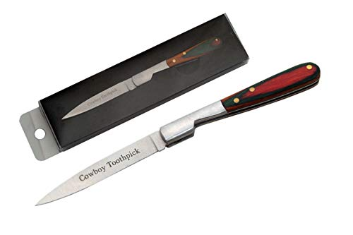 SZCO Supplies 212071-CB Cowboy Toothpick Knife