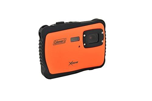 Coleman C6WP-O Xtreme 12.0 MP/HD Underwater Digital & Video Camera (Orange)