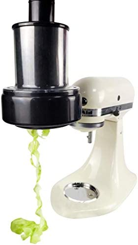 Cirillo Spiralizer Accessory For KitchenAid Mixers Automatic Spiralizer Oversized Loading Chute product image