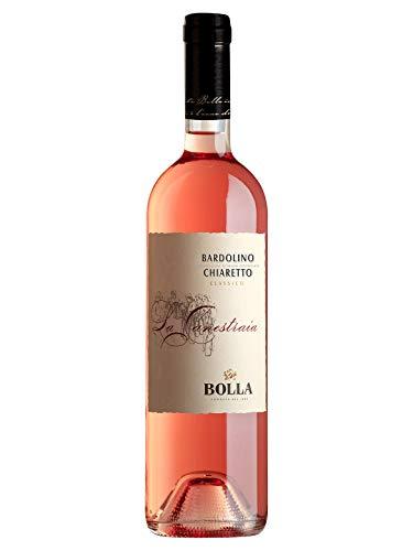 LA CANESTRAIA Bardolino Classico Chiaretto DOC - Bolla - Vino rosato fermo 2019 - Bottiglia 750 ml