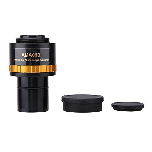 AMA050調整可能23.2接眼レンズ-顕微鏡接眼レンズアダプター2.9オンス