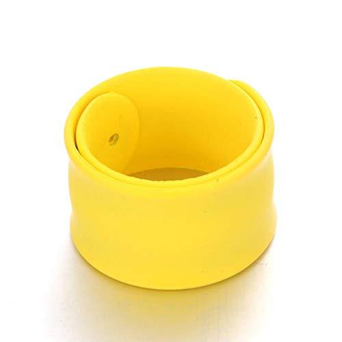 DMUEZW Creative Silica gel papa cirkel Armband Trendy Regenboog Kleur Siliconen Polsband Sport Cirkel Bangles Sieraden Gift