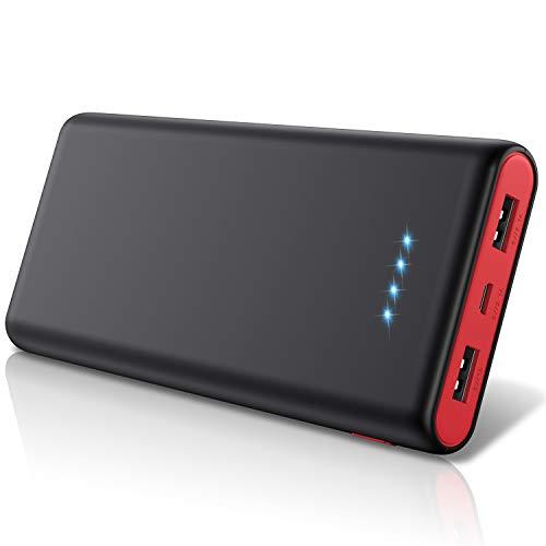 モバイルバッテリー 26800mah 大容量令和新設計 急速充電残量表示 2USB出力ポート 持ち運び 携帯充電器 PSE認証済 バッテリー Android その他のスマホ タブレット対応